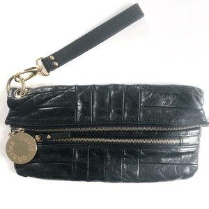 Charles David genuine Leather Clutch